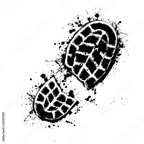 Fotografía  Grunge shoes background