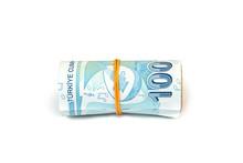 Turkish Banknotes Roll. Turkis...