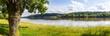 canvas print picture - Landschaft bei Saint-Martin-de-la-Place, Pays de la Loire, Frankreich