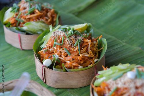 Pad Thai, Thai tradition food.