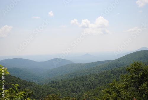 Deurstickers Blauwe hemel Country Ride 2