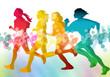 running- silhouette