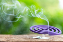 Violet Mosquito Repellent On W...