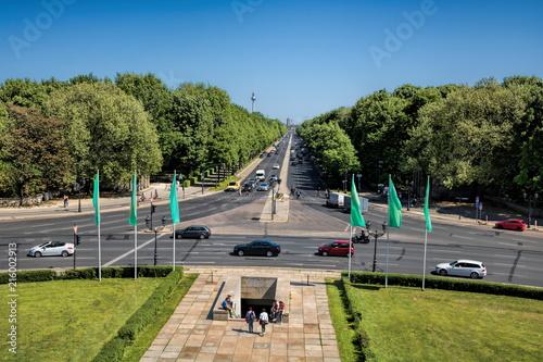 Foto op Plexiglas Centraal Europa Berlin, Großer Stern mit Tiergarten