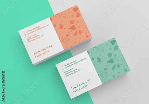 Floral business card layout buy this stock template and explore floral business card layout wajeb Images