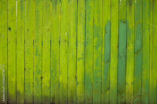 The old green wood texture with natural patterns #216005798