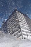 Fototapeta Nowy Jork - Odbicie