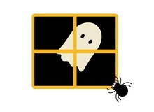 Simple Ghost In The Window Wit...