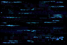 Abstract Glitch Background