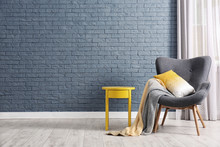 Stylish Living Room Interior W...