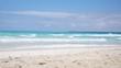 Sandstrand und Meer Traumstrand in 4K