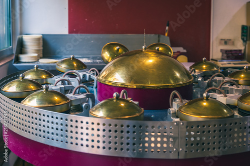 Fotografie, Obraz  Machinery used to make wafers in Karlovy Vary, are a traditional and very popular snack