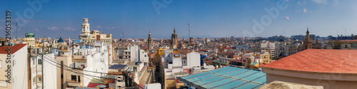 La pose en embrasure Bruxelles Pano of Valencian Rooftops