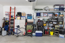 Garage Storage Shelves With Vi...