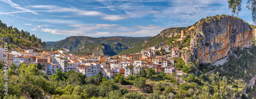 Panoramic Chulilla Spain