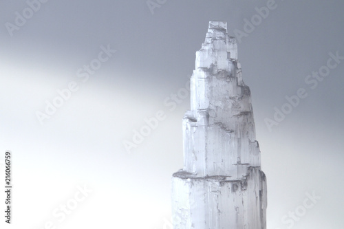 Fotografie, Obraz Selenite Crystal