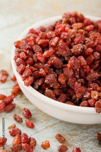 Photo dried berberis fruit