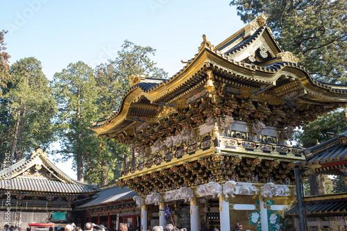Yomeimon Gate in Toshogu Shrine, Nikko, Japan 日光東照宮の陽明門
