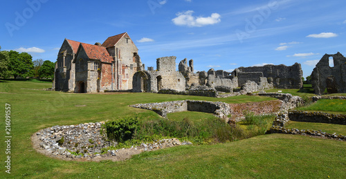 Fotografia The remains of Castle Acre Priory Norfolk