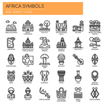 Africa Elements , Thin Line An...