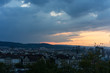 Zurich, Switzerland City Panorama at evening sunset