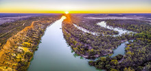 Iconic Murray River Flowing In...