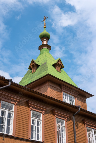 Photo  St Simeon and St Anna Church -Refectory- on the territory of Puhtitsa Dormition Convent of Russian Orthodox Church