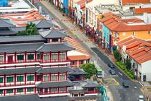 Cityscape Of Singapore Chinato...