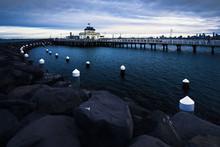 St Kilda Pier At Dusk, Melbour...