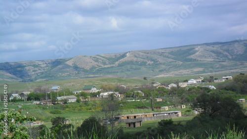 Spoed Foto op Canvas Khaki Landscape