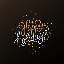 Happy Holidays - Greeting Card...
