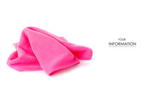 The Pink Microfibre Rag Patter...