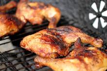 Grilled Quarter Chicken Thighs...