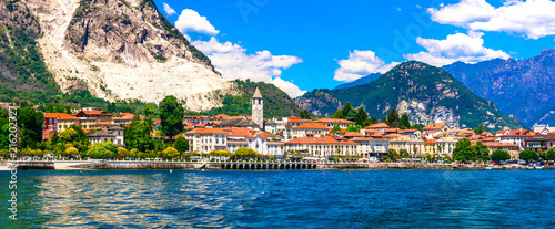 Beautiful Baveno - famous tourist center and resort in Lago Maggiore. North of Italy