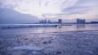 Ontario lake with view on Etobicoe / Winter 2018