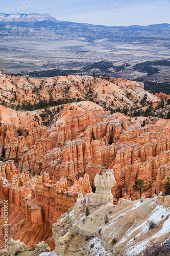 Deurstickers Canyon Majestic Bryce Canyon Landscape In Utah