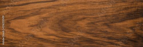 Türaufkleber Holz Walnut wood texture. Super long walnut planks texture background.Texture element