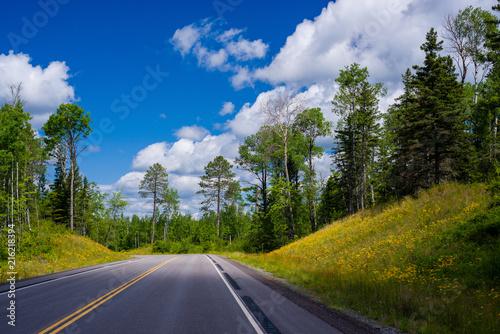 Keuken foto achterwand Verenigde Staten minnesota highway 1, summer