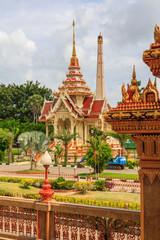 Chalong temple, Phuket, Thailand