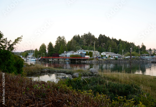 Photo  Beautiful Harbor and Bay of Ucluelet British Columbia Canada