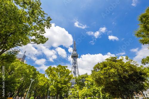 In de dag Stad gebouw 名古屋の風景