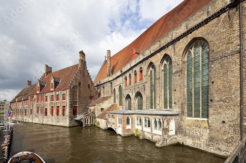 Foto op Canvas Brugge St. John's Hospital In Bruges