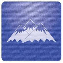 Mountain Icon. Vector Concept ...
