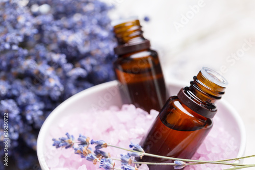 Fotografie, Tablou lavender body care products