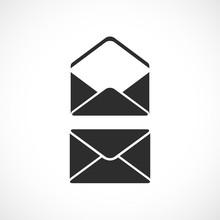 Envelope Vector Silhouette Icon