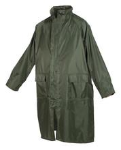 Waterproof Raincoat Isolated On White