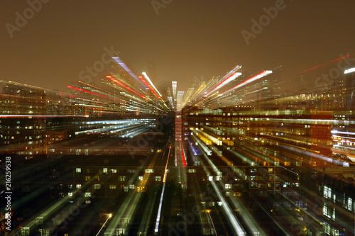 Fotobehang Peking Optic effect ,building of Beijing china
