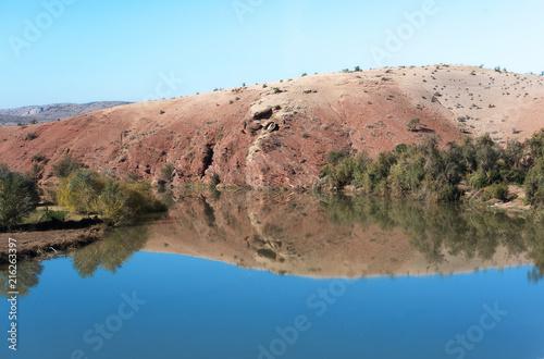 Staande foto Afrika Typical Moroccan Landscape North Africa Morocco