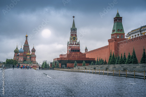Fotobehang Moskou Kremlin