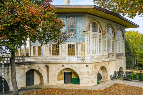 The Baghdad Pavilion in Topkapi Palace. Fototapeta